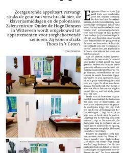 Artikel in Dagblad van het Noorden - 1