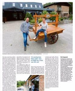 Artikel in Dagblad van het Noorden - 2