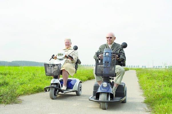 Senioren scootmobiel