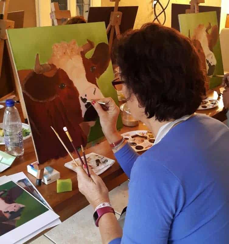 Workshop schilderen voor ouderen