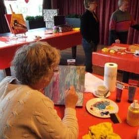 Workshop-schilderen-dementie-hoorn